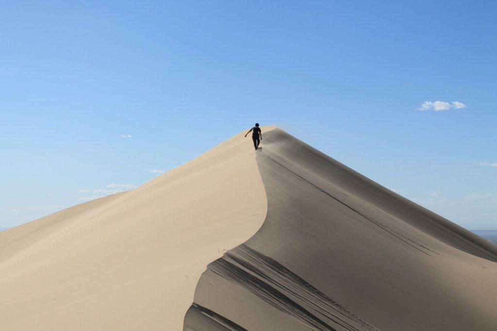 Les dunes Khongor Mongolie