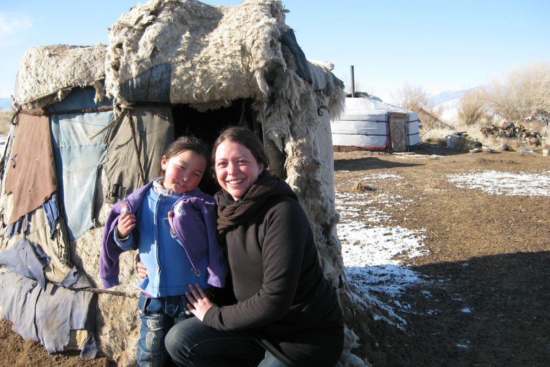 Peuple nomade de Mongolie