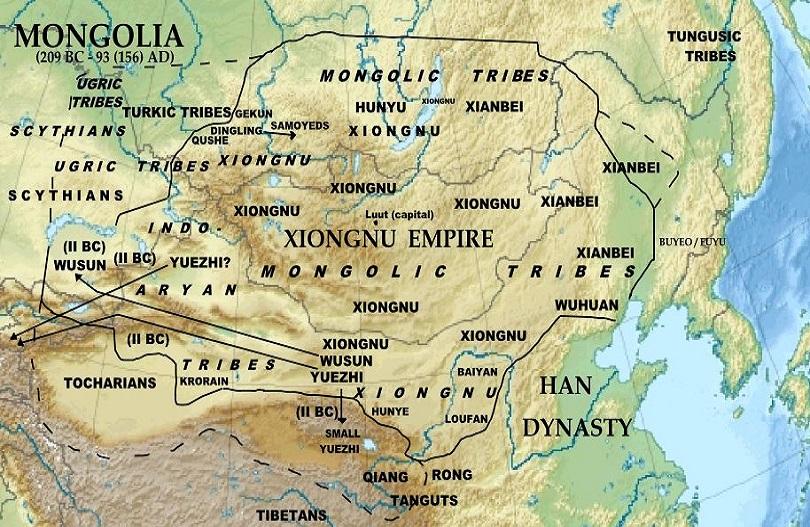 histoire de la mongolie