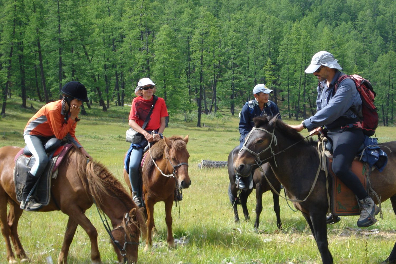 Mongolie à Cheval